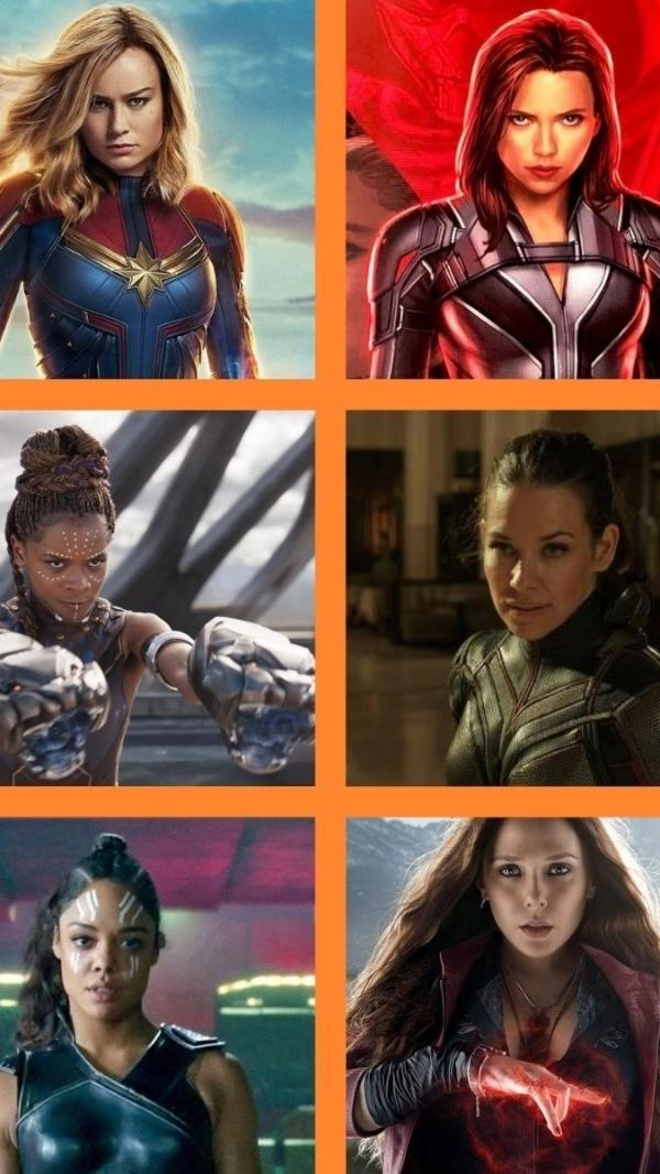 Heroínas da Marvel