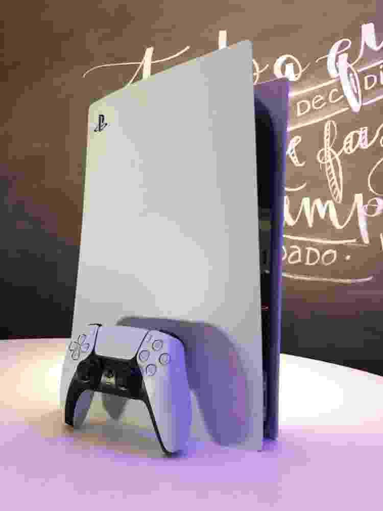 PS5 PlayStation 5 unboxing - Vinicius Amado/UOL - Vinicius Amado/UOL
