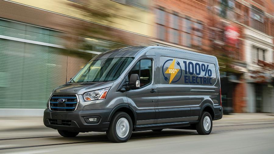 Ford E-Transit - Divulgação
