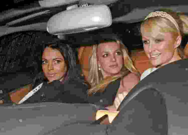 Lindsay Lohan, Britney Spears e Paris Hilton - Reprodução/Instagram - Reprodução/Instagram