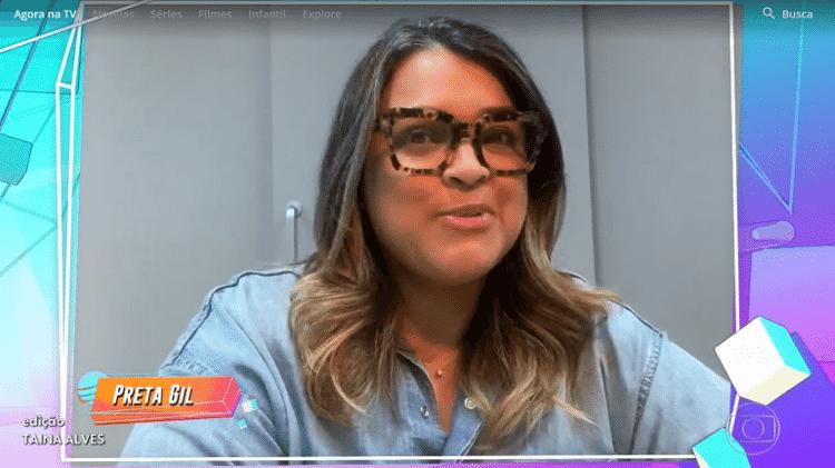 BBB 21: Preta Gil canta no 'BBB' hoje - Reprodução / Globoplay - Reprodução / Globoplay
