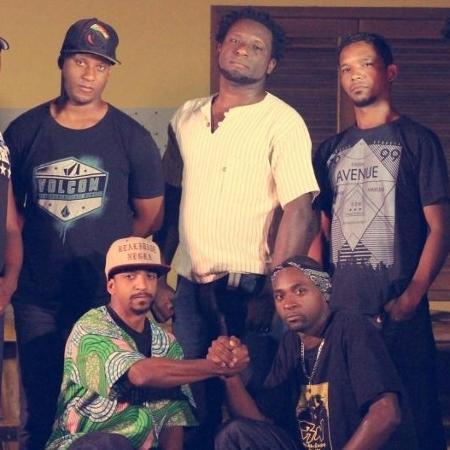 O grupo de rap quilombola Realidade Negra, de Paraty (RJ) - Divulgação