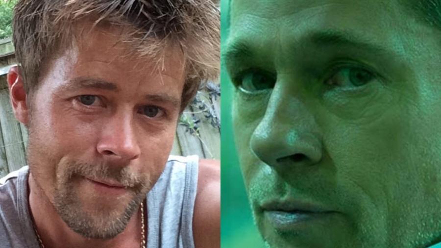 Britânico sósia de Brad Pitt revela dificuldades para arrumar namorada devido à aparência - Reprodução/Instagram e Reprodução/Divulgação
