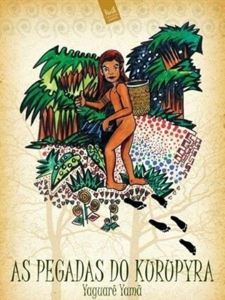 """Capa do livro """"As pegadas do Curupira"""" - Reprodução"""