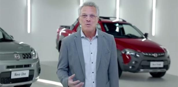 Pedro Bial migrou em propaganda da Fiat - Reprodução/Youtube