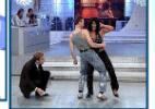 Gretchen demonstra irritação com vídeo e sugere que van Damme é gay - Reprodução/SBT