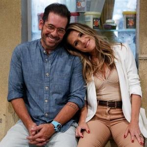 "Leandro Hassum e Ingrid Guimarães protagonizam ""Chapa Quente"" - Pedro Carrilho/TV Globo"