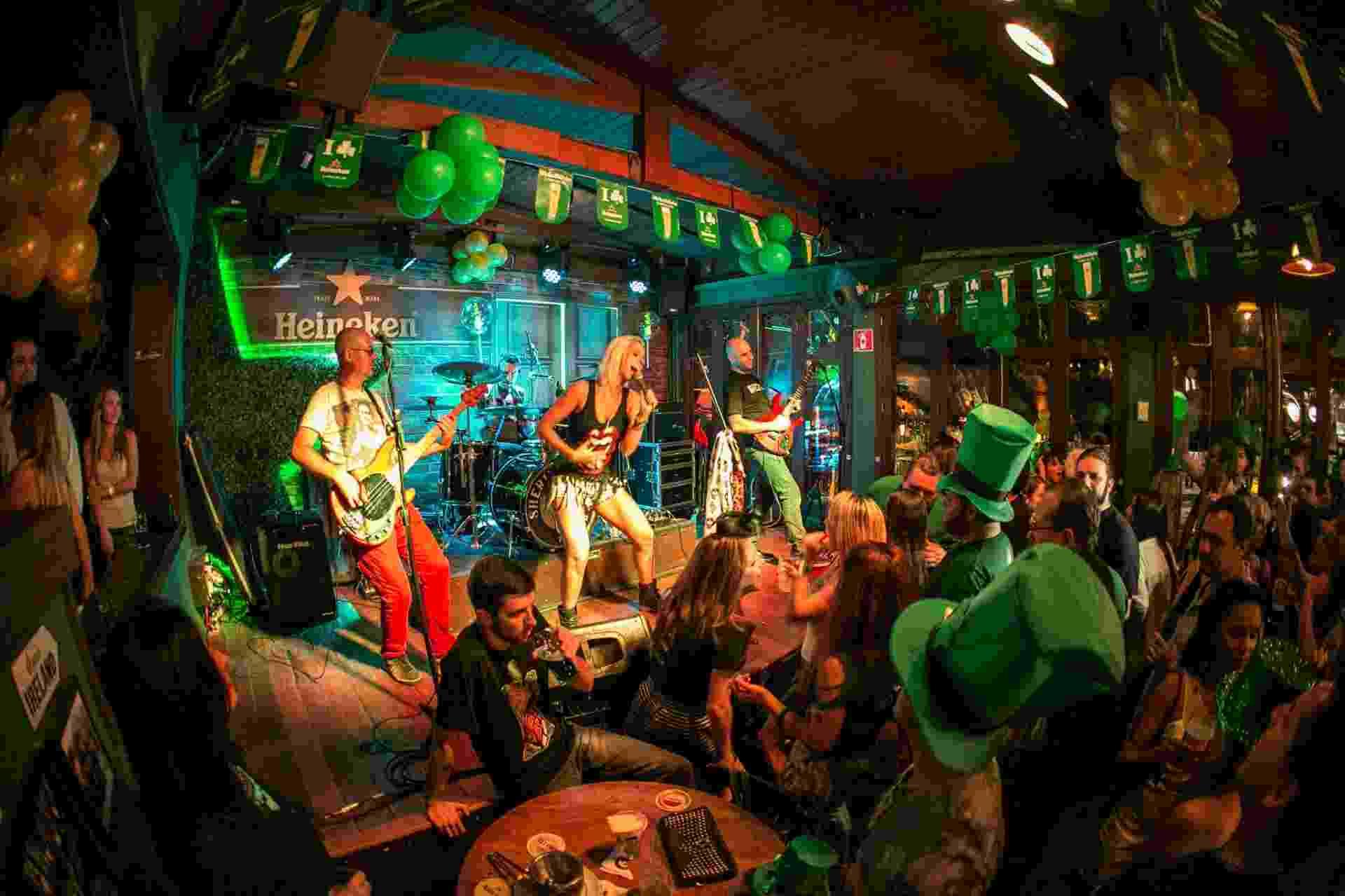 Saint Patrick's de Inverno no Sheridan's Irish Pub - Divulgação