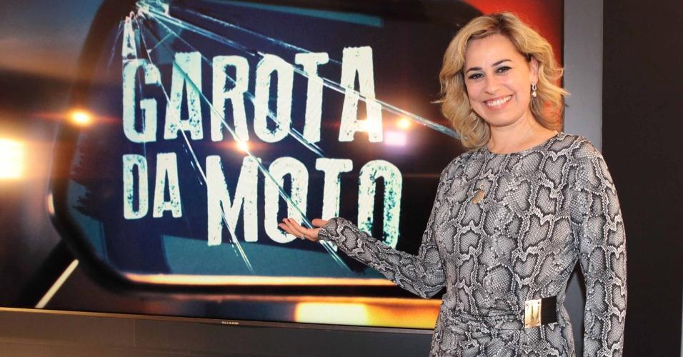 """Daniela Escobar será a vilã Bernarda em """"A Garota da Moto"""""""