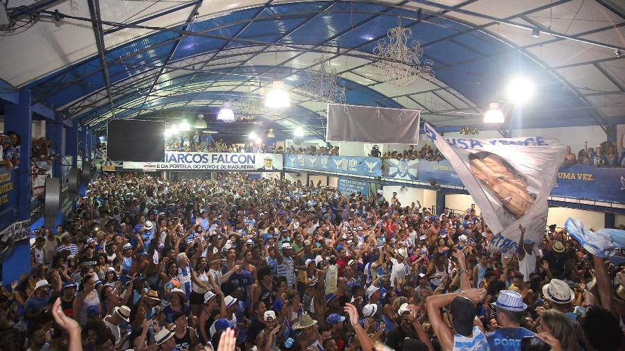 Quadra da Portela receberá Viradouro e Grande Rio em festa nesta sexta (15) - DANIEL CASTELO BRANCO/AGÊNCIA O DIA/ESTADÃO CONTEÚDO