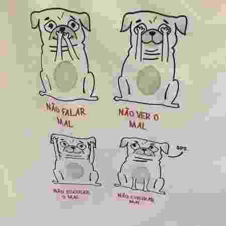 Cartunista acusa marca de copiar seu desenho - Reprodução/Twitter