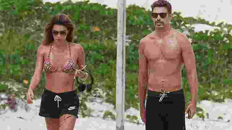 Ao lado da namorada, Cauã Reymond chama atenção pelo bigode - Dilson Silva/AgNews - Dilson Silva/AgNews