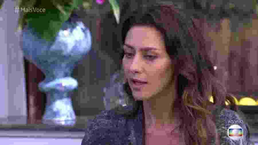 """Maria Fernanda Cândido no """"Mais Você"""" - Reprodução/Globo"""