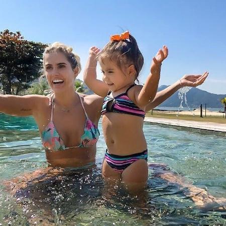 Deborah Secco e a filha, Maria Flor - Reprodução/Instagram