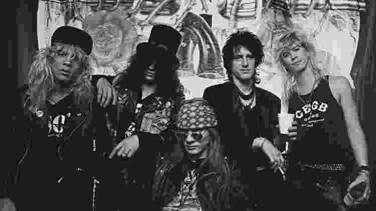 Guns N Roses - Reprodução/YouTube - Reprodução/YouTube