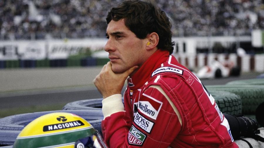 O tricampeão mundial Ayrton Senna - Reprodução