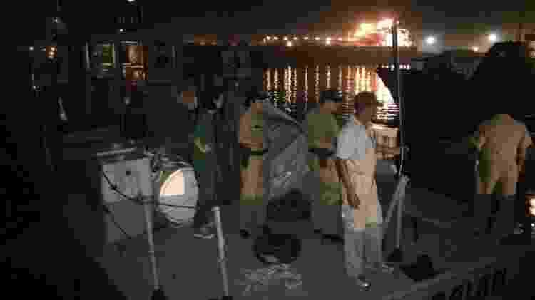 Na Guatemala, a tripulação do barco da Women on Waves ficou detida no pier - Divulgação - Divulgação