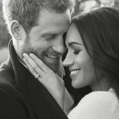 Príncipe Harry e Meghan Markle em foto oficial do noivado - Reprodução/Instagram