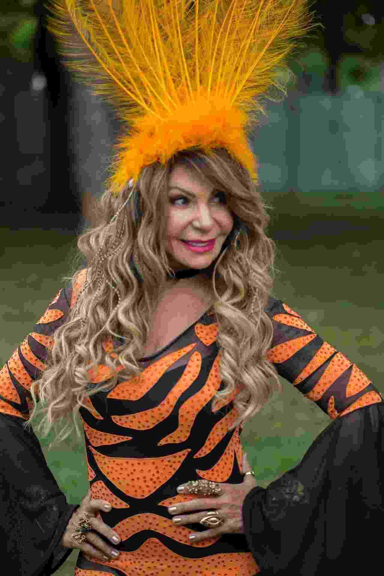 Elba Ramalho estreia em Carnaval de São Paulo com bloco Frevo Mulher - André Lucas/UOL