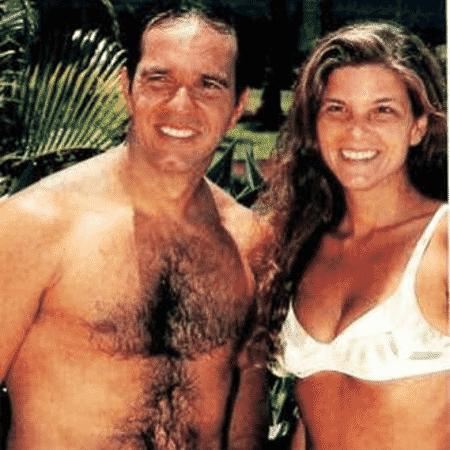 Humberto Martins e Cristiana Oliveira em foto de 1994 - Reprodução/Instagram/crisoliveira10