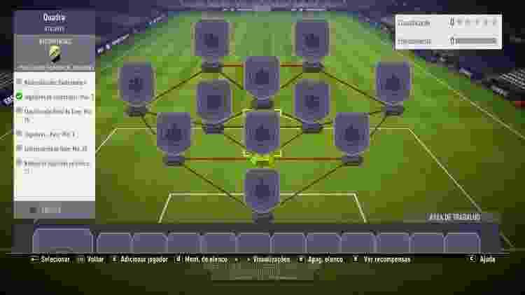 Fifa Ultimate Team - SBC - Reprodução - Reprodução