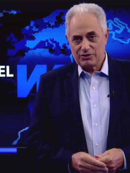 William Waack retomará conversas com emissoras de TV - Reprodução/Youtube