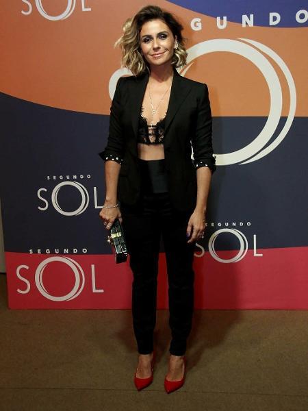 Giovanna Antonelli participa de lançamento de novela  - Marcos Ferreira/Brazil News