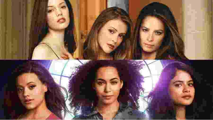 """""""Charmed"""", conhecida no Brasil como """"Jovens Bruxas"""", vai ganhar nova versão - Reprodução/Montagem UOL"""