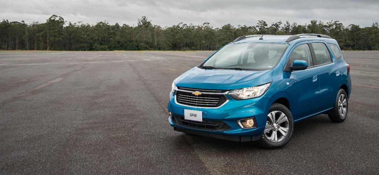 Chevrolet Spin LTZ 2019 - Divulgação