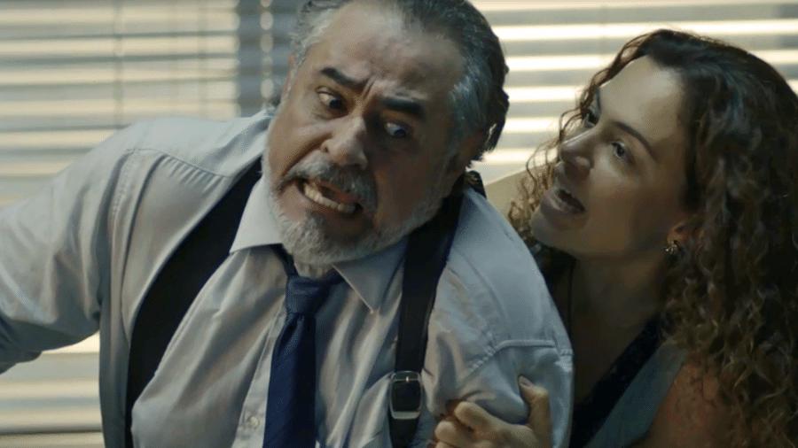 Selma dá uma surra em Viana - Reprodução/Gshow