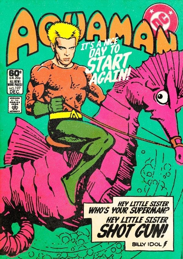 Billy Idol virou Aquaman em arte de Butcher Billy