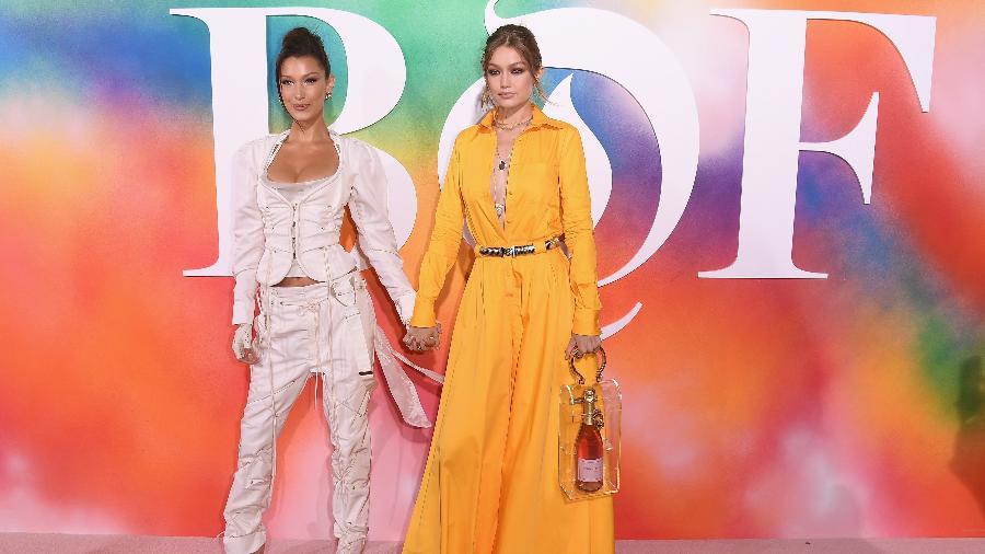 Bella Hadid e Gigi Hadid no BoF500 - Getty Images