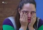 Após combinação de votos, Perlla se emociona e começa a chorar