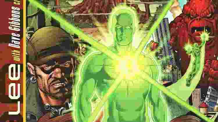 """Capa da edição de """"Imagine..."""" para Lanterna Verde, escrito por Stan Lee - Reprodução"""