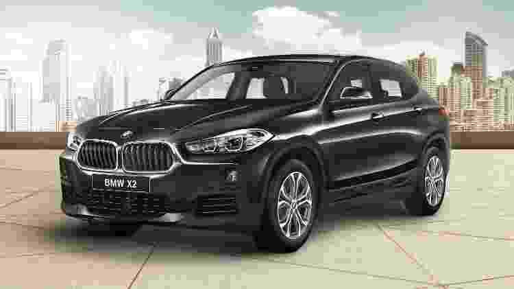 BMW X2 sDrive18i Flex - Divulgação - Divulgação