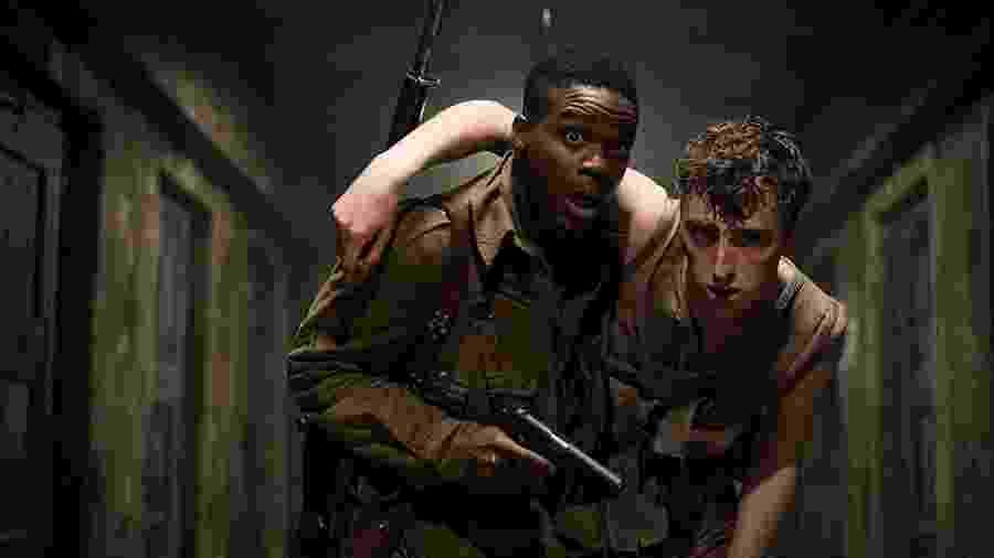 """Cena de """"Operação Overlord"""", filme de zumbis na Segunda Guerra de J.J. Abrams - Reprodução"""