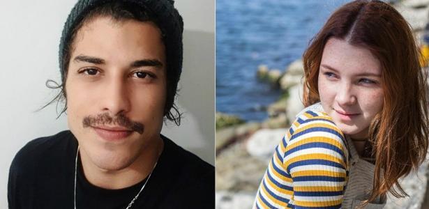 Douglas Sampaio e a ex-namorada, Jeniffer Oliveira