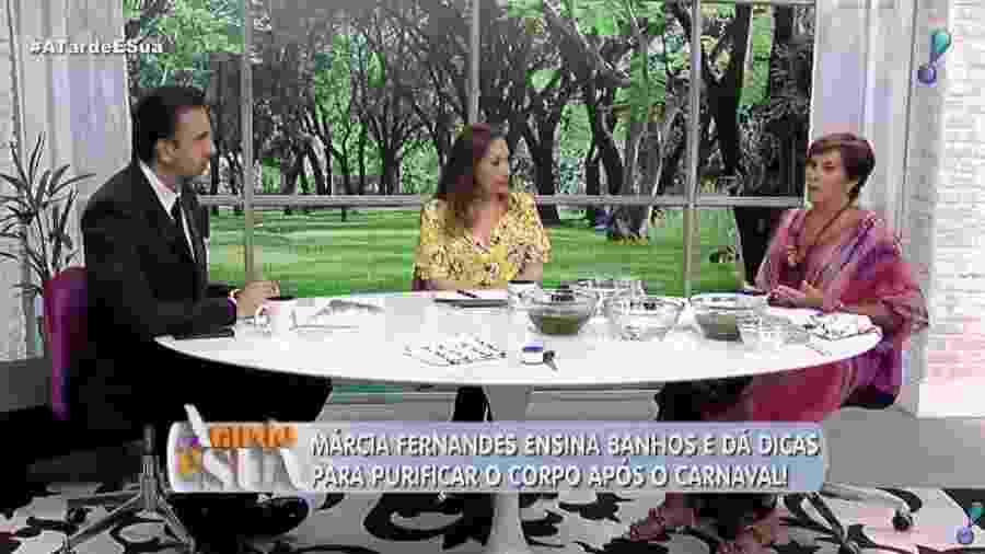 Sônia Abrão, Jorge Lordello e Márcia Sensitiva foram condenados a indenizar família por danos morais - Reprodução/RedeTV!
