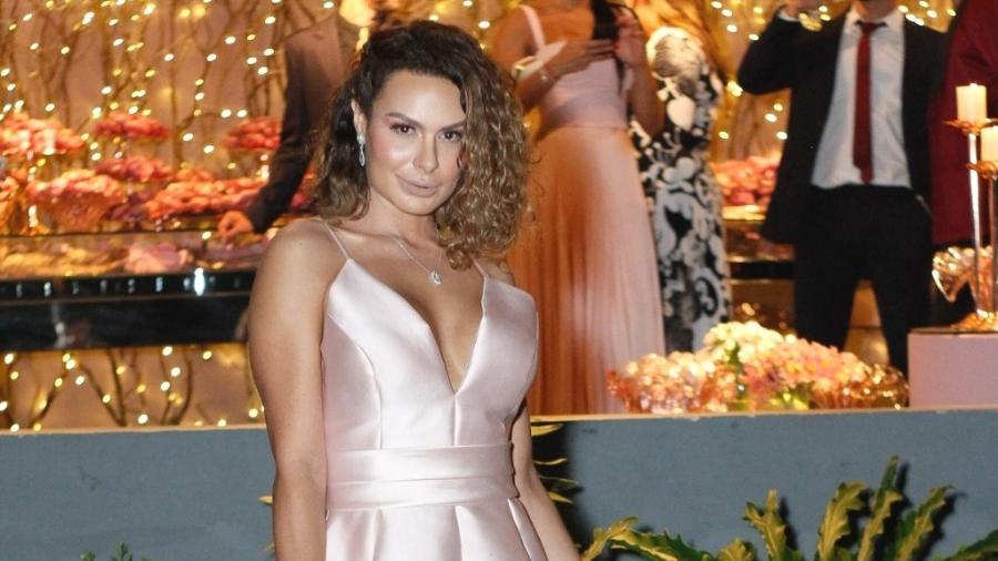 Fernanda Lacerda foi madrinha de casamento de Nicole Bahls - Marcos Ferreira/ Brazil News