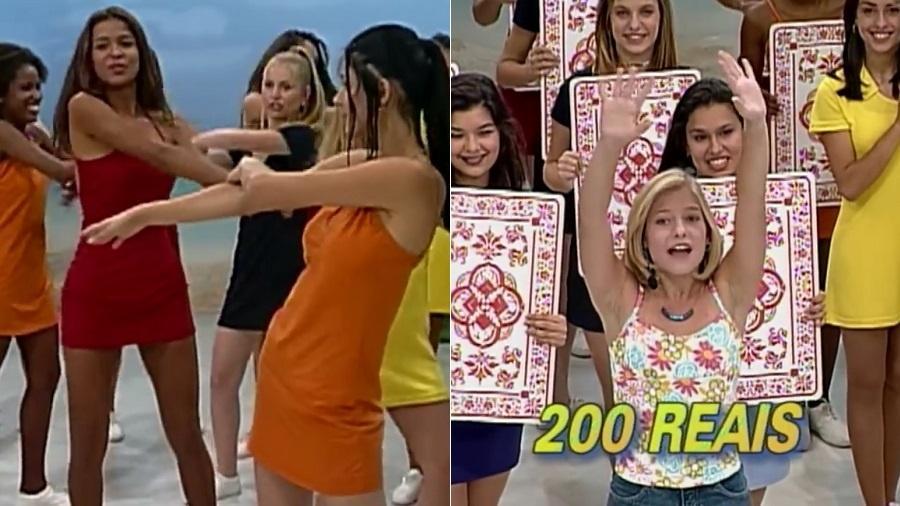 """Erros em edição do programa """"Fantasia"""" resgatada pelo SBT - Montagem/Reprodução/SBT"""