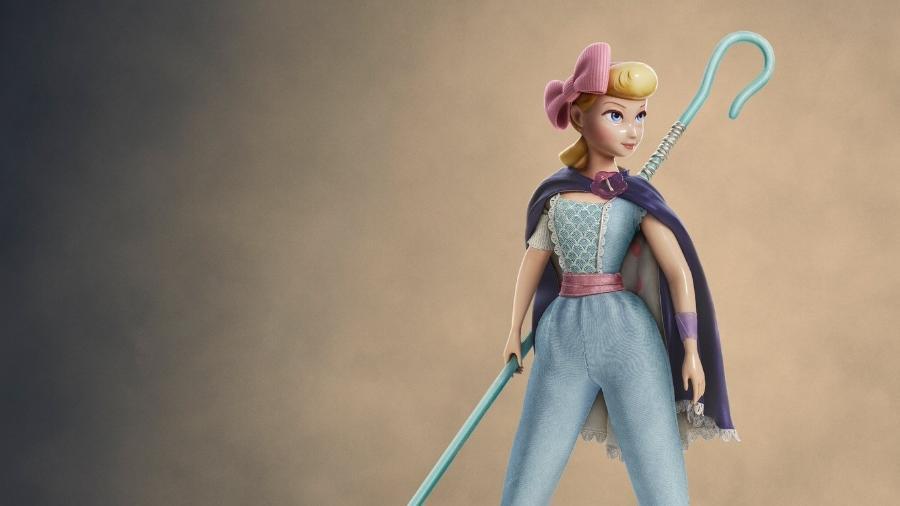 """O novo visual de Betty em """"Toy Story 4"""" - Reprodução/Twitter"""