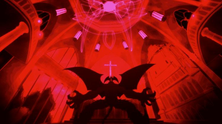 """Cena do anime """"Devilman Crybaby"""", considerada uma das melhores animações de 2018 - Divulgação/Netflix"""