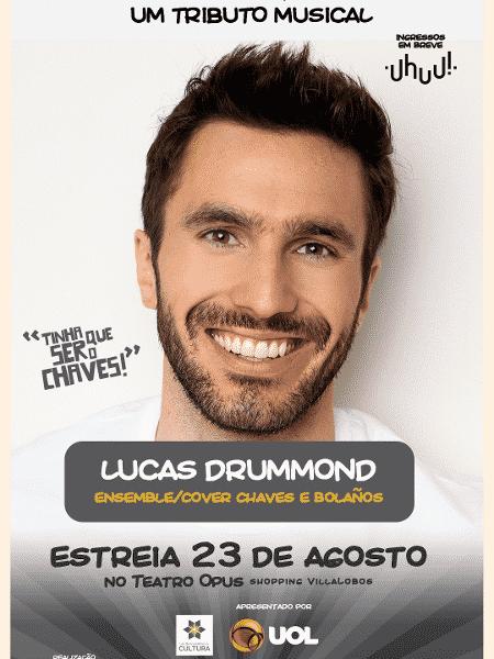 """Lucas Drummond fará coro e será substituto de Chaves e Roberto Gómez Bolaños em """"Chaves - Um Tributo Musical"""" - Divulgação - Divulgação"""