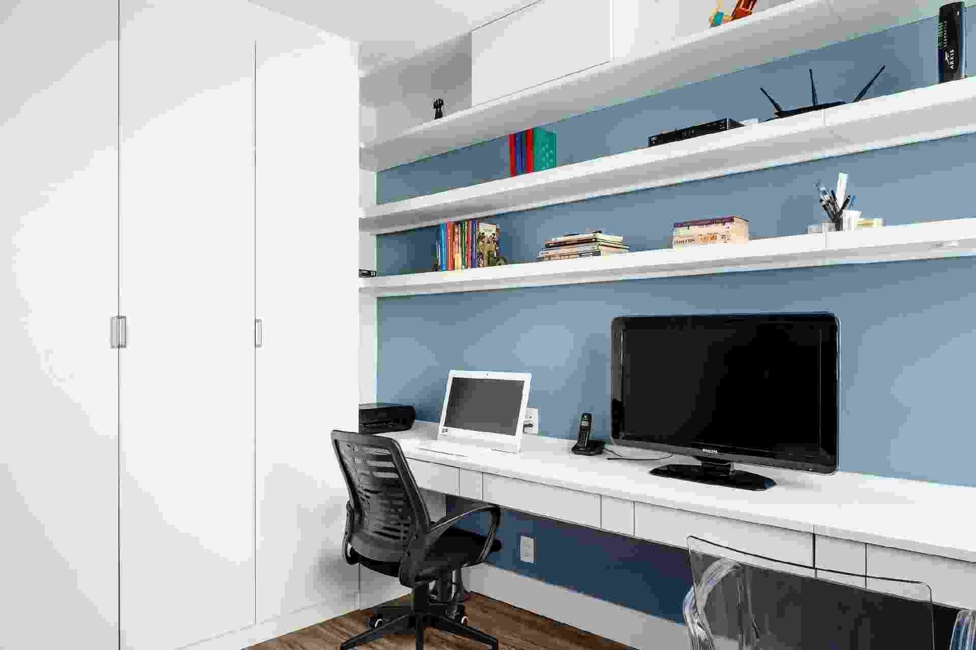 home office e closet - Dhani Borges / Divulgação