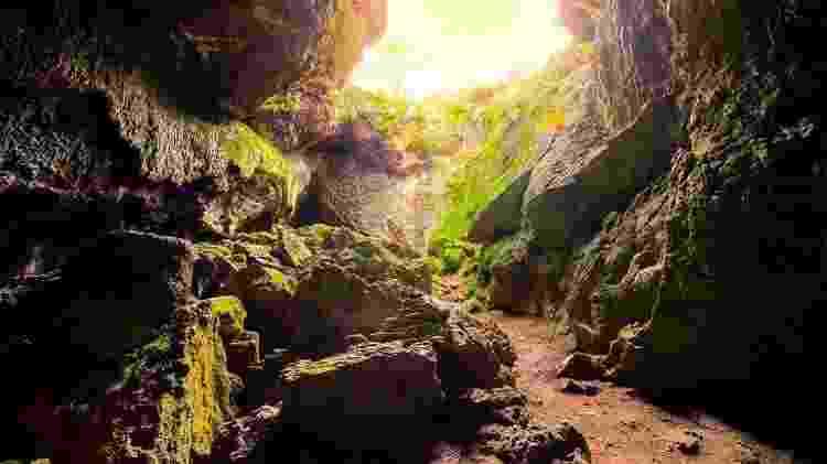 As cavernas não eram muito confortáveis para dormir - Getty Images - Getty Images