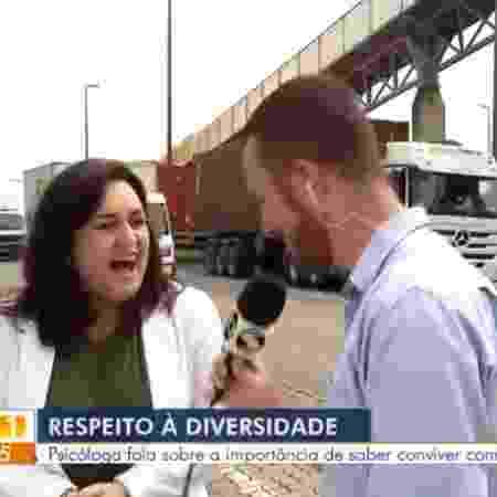 Psicóloga compara homofobia a jiló na Globo - Reprodução/TV Rio Sul