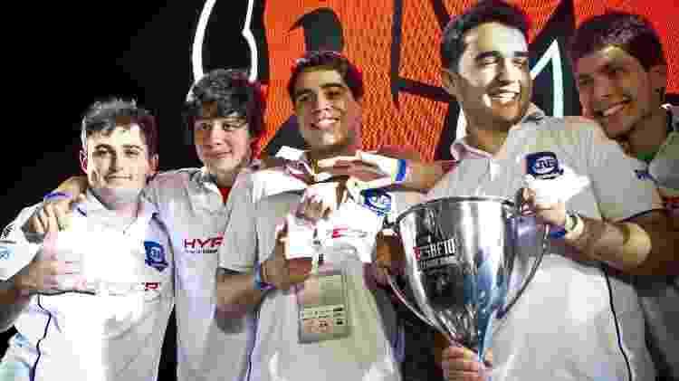 No Desafio Internacional, em 2013, a CNB, de Takeshi, venceu a paiN na final - Divulgação/Agência X5