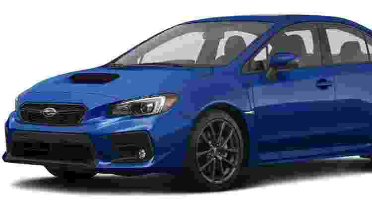 Subaru WRX é um dos raros esportivos que utilizam o câmbio continuamente variável - Divulgação - Divulgação