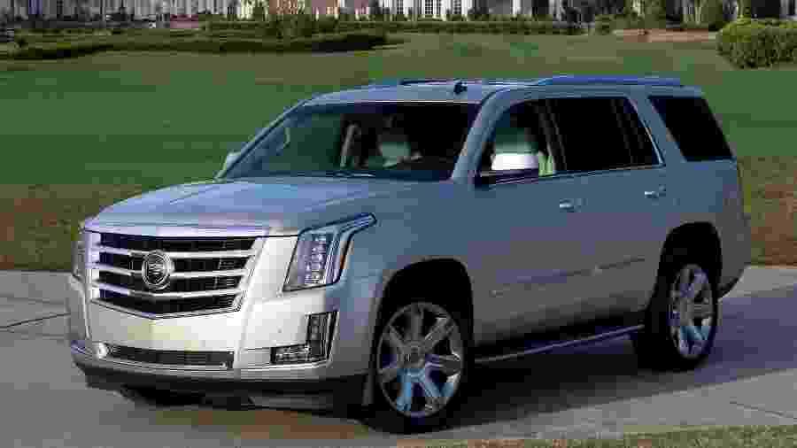 Visual do Escalade de Bambam está prestes a mudar: em junho chega a nova geração - Cadillac/Divulgação