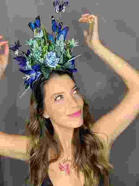 Nathalia Dill posa com tatuagem ousada antes de Carnaval na Sapucaí - Divulgação